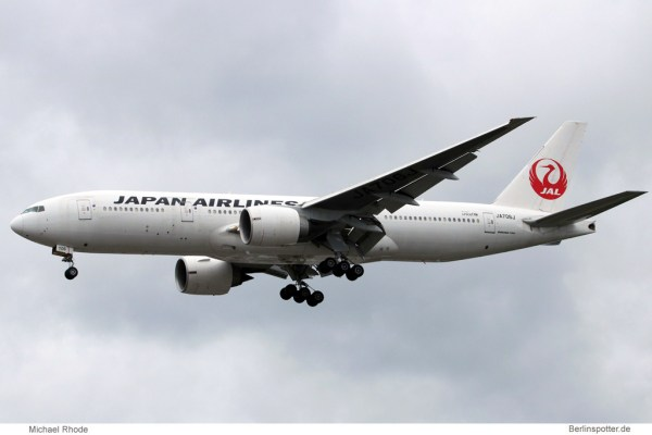 Japan Airlines Boeing 777-200ER JA706J