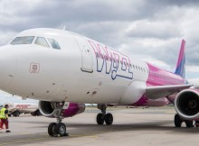 Airbus A320 der Wizz Air (© G. Wicker/FBB)
