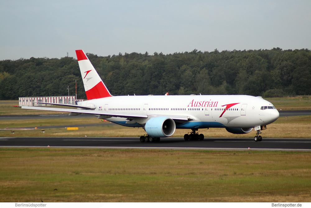 Austrian Airlines Boeing 777-200 OE-LPB