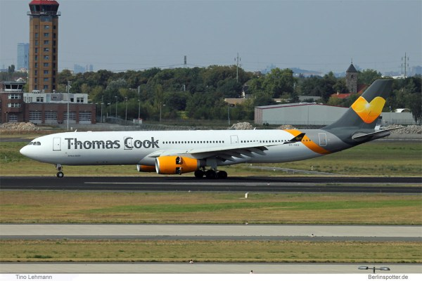 Thomas Cook Airlines Scandinavia Airbus A330-300 OY-VKG (SXF 2.9. 2016)