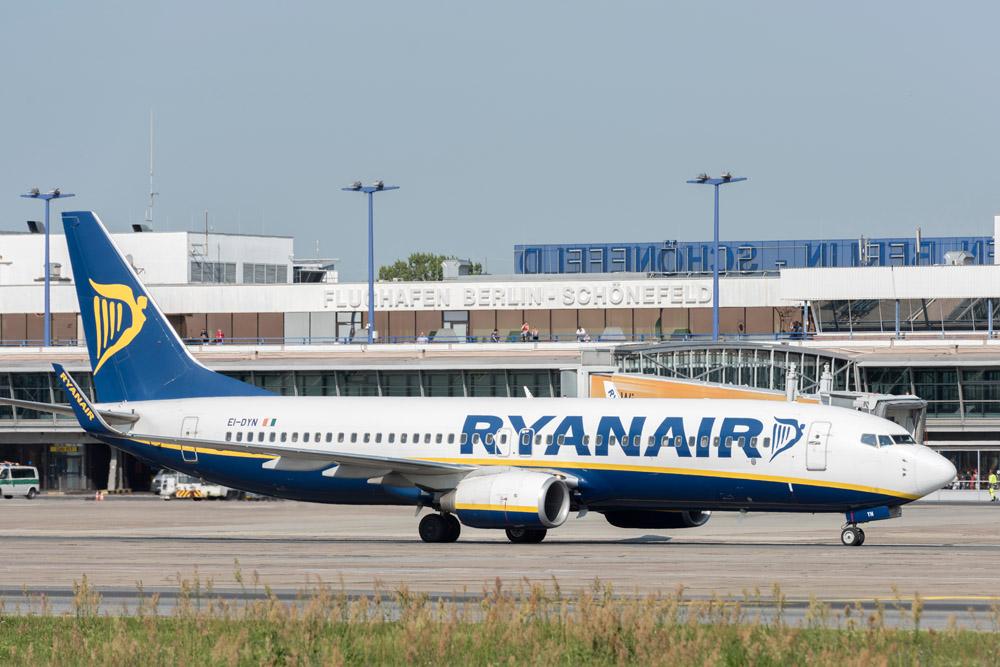 Ryanair: Drei neue Routen ab Schönefeld