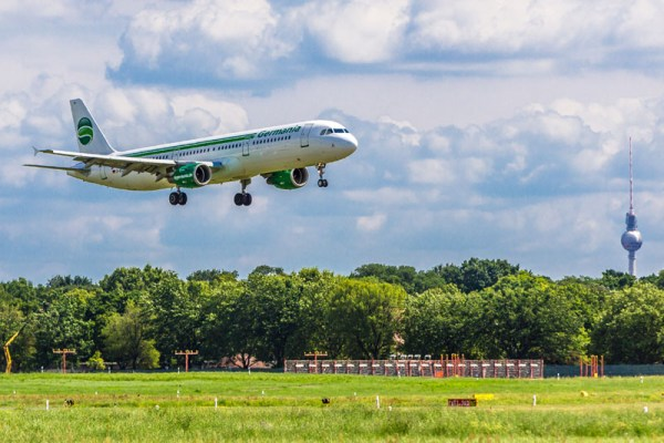 Germania Airbus A321 in Berlin (© K. Kiessling)