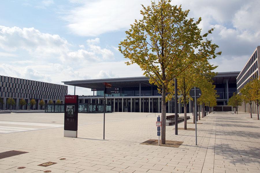BER: Erweiterungsterminal wird gebaut