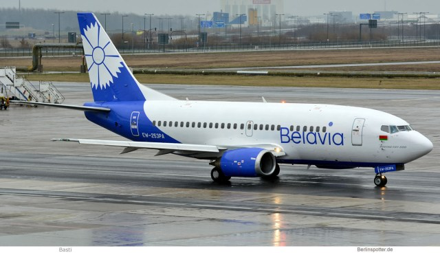Belavia, Boeing 737-500 EW-253PA (SXF 3.1. 2017)