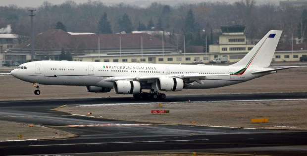 Italy Air Force, Airbus A340-500 I-TALY (TXL 18.1. 2017)