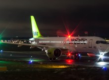 Air Baltic, Bombardier CS300 YL-CSB (TXL 15.1. 2017)