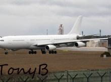 HiFly Malta Airbus A340-300 9H-SUN (TXL 24.2. 2017)