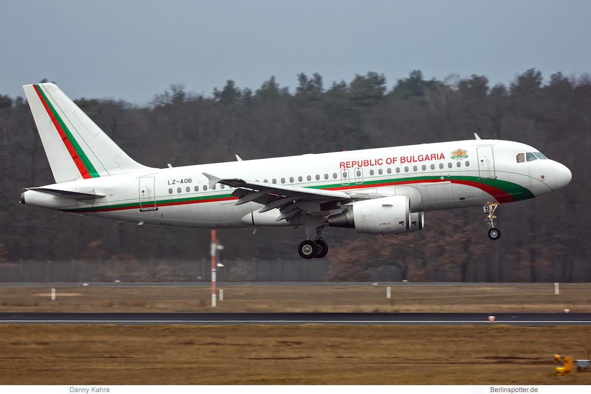 Republik Bulgarien, Airbus A319-100 LZ-AOB