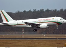 Bulgaria Gvmt. Airbus A319-100 LZ-AOB (TXL 6.2. 2017)