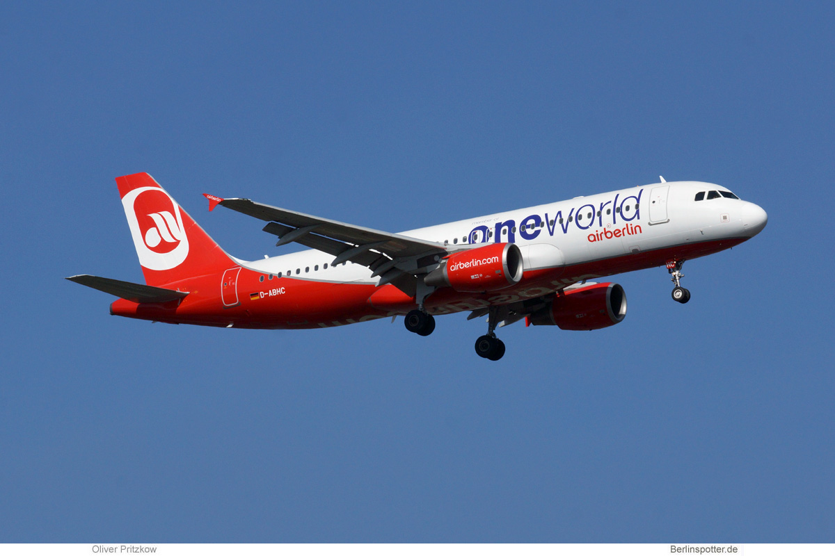 Air Berlin Airbus A320-200 D-ABHC