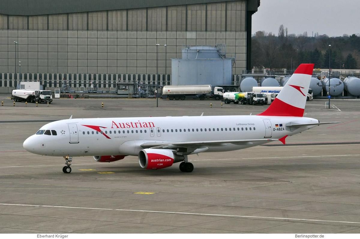 Austrian Airlines Airbus A320-200 D-ABZA
