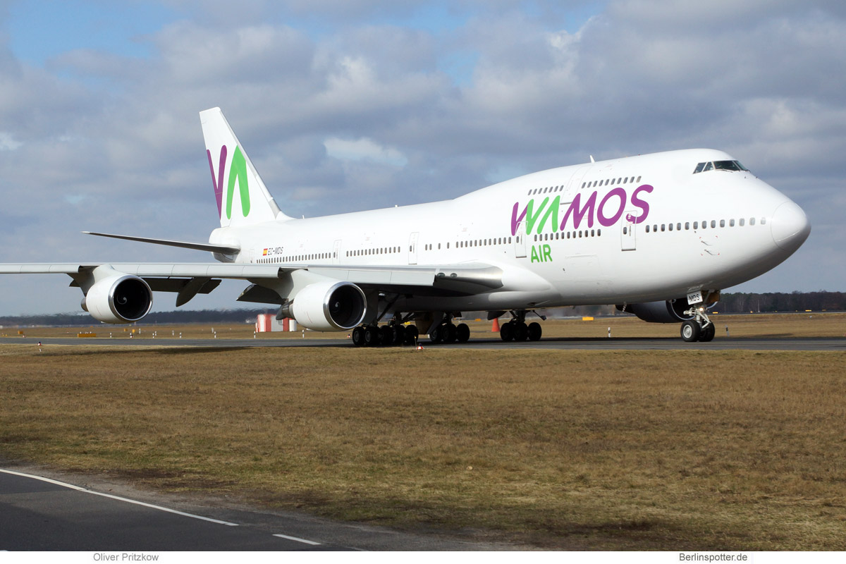 Wamos Air Boeing 747-400 EC-MDS
