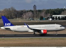 SAS Scandinavian Airlines, Airbus A320neo LN-RGN (TXL 11.3. 2017)
