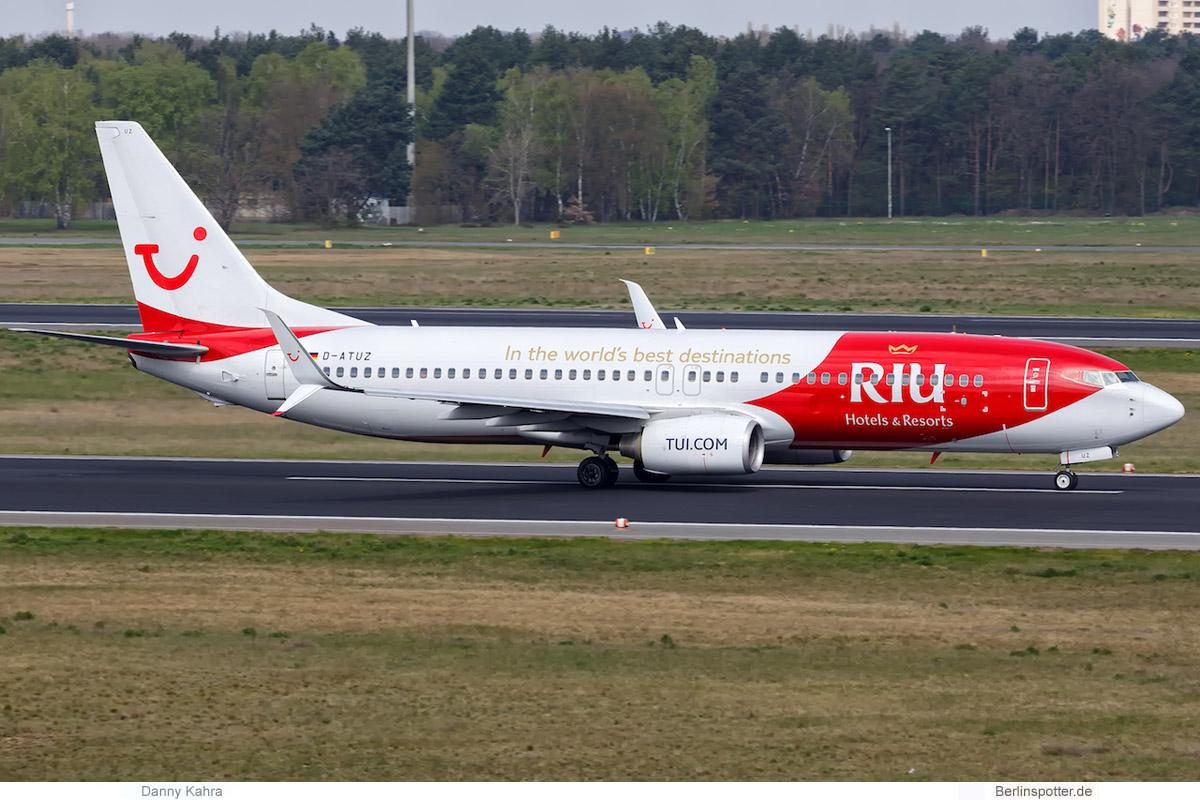 TUIfly Boeing 737-800(WL) D-ATUZ