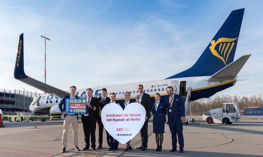 Mit Ryanair von Schönefeld nach Verona