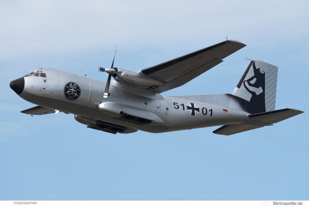 Luftwaffe, C-160 Transall 51-01