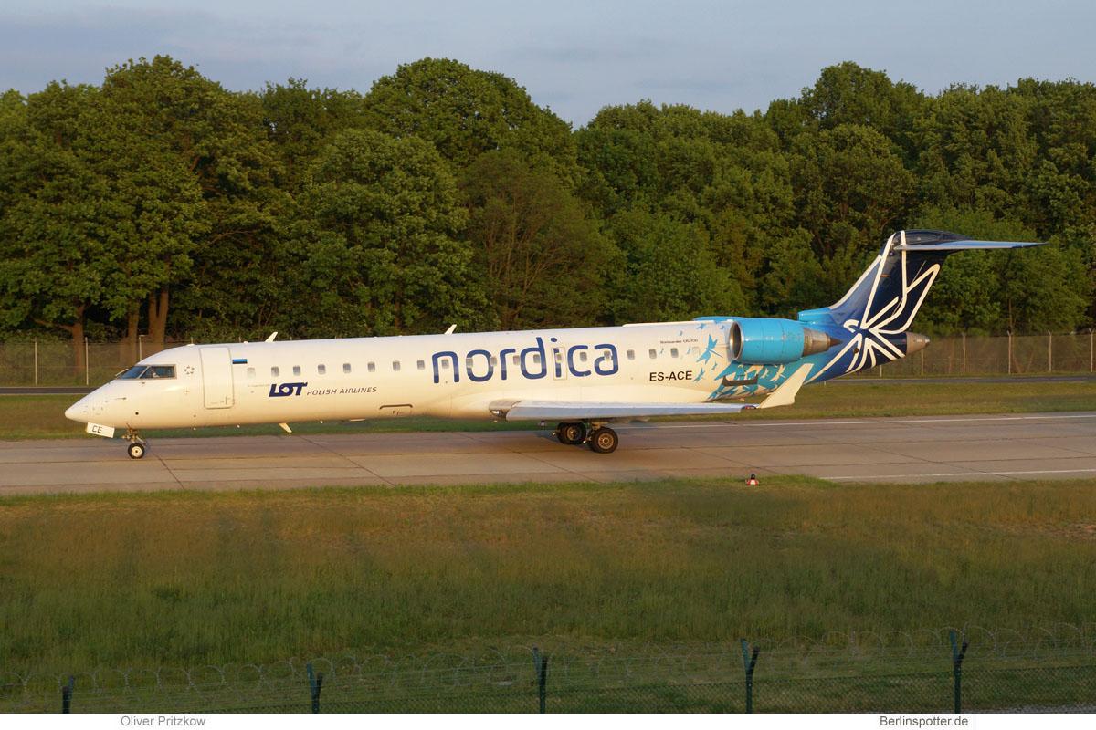 Nordica Bombardier CRJ700 ES-ACE