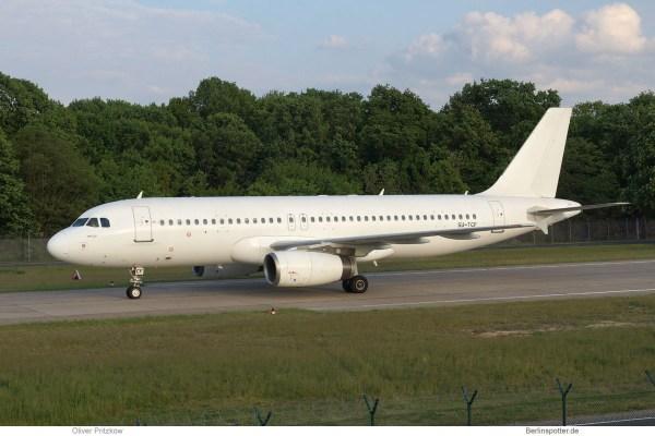 Almasria Universal Airlines, Airbus A320-200 SU-TCF (TXL 20.5. 2017)