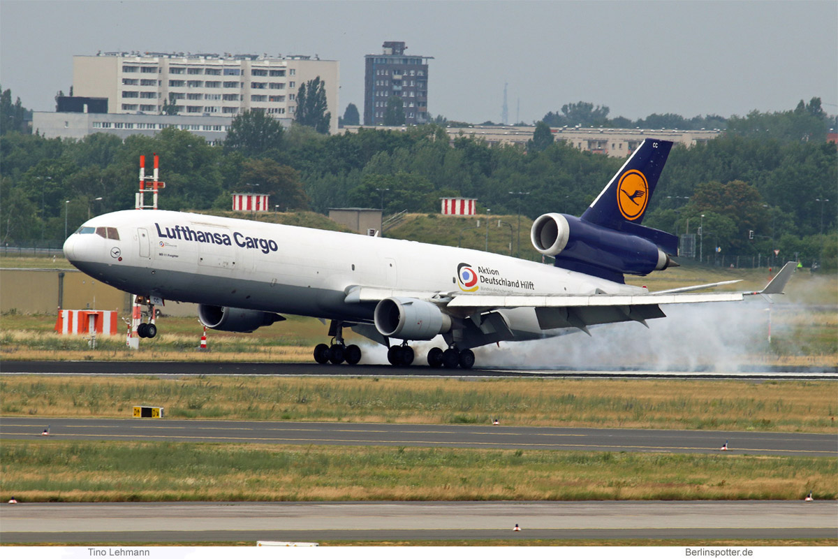 Lufthansa Cargo, McDonnell-Douglas MD-11F D-ALCC
