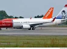 Norwegian Air International, Boeing 737-800(WL) EI-FVR, Karin Boye im Tail (SXF 28.6. 2017)