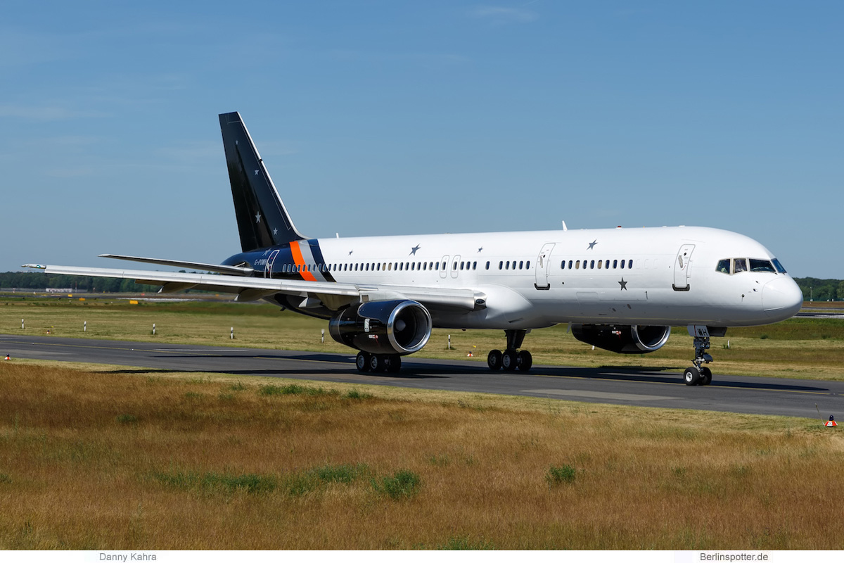 Titan Airways Boeing 757-200 G-POWH