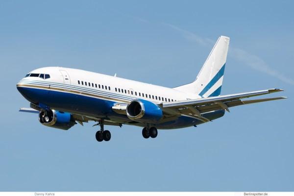 Las Vegas Sands Corp., Boeing 737-300 N789LS (SXF 9.6. 2017)