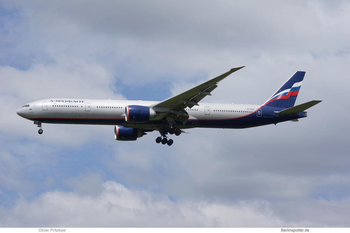 Aeroflot Boeing 777-300ER VP-BGF