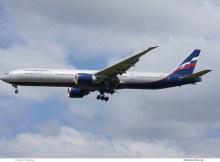 Aeroflot, Boeing 777-300ER VP-BGF (SXF 17.6. 2017)