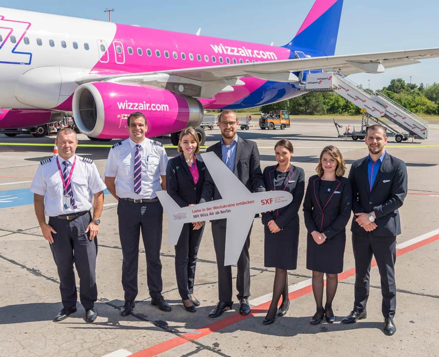 Wizz Air verbindet Berlin mit Lwiw