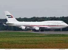 Dubai Air Wing, Boeing 747-400 A6-MMM (TXL 10.8. 2017)