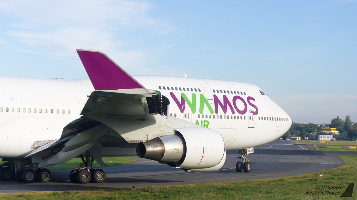 Wamos Air Boeing 747-400 EC-KSM