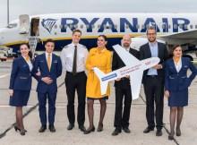 Eröffnugn der neuen Ryanair-Route nach Billund (© FBB, G. Wicker)