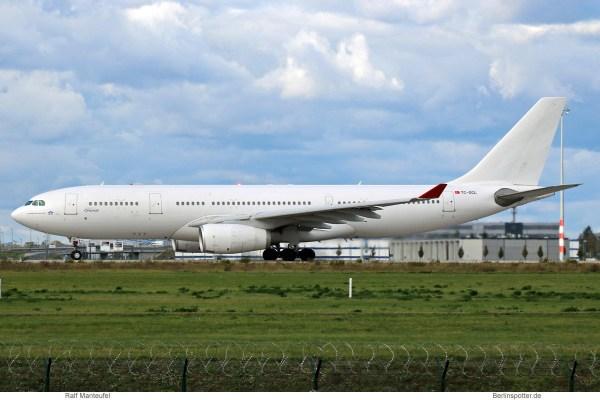 Onur Air, Airbus A330-200 TC-OCL (SXF 9.10. 2017)
