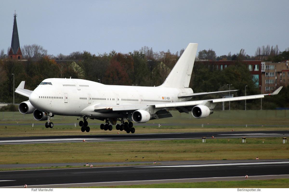 Wamos Air Boeing 747-400 EC-MQK
