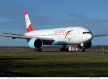 Austrian Airlines Boeing 777-200ER OE-LPE (TXL 30.10. 2017)