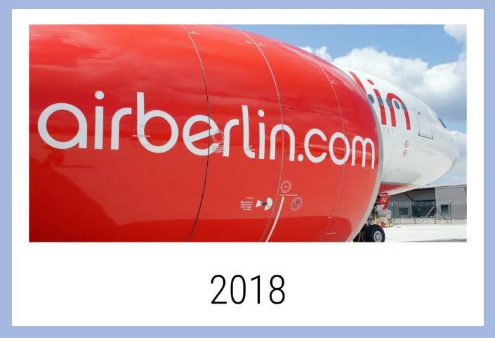 Air Berlin Kalender 2018