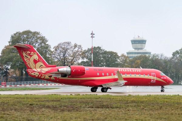 RusLine Bombardier CRJ100 VQ-BNA (© G. Wicker, FBB)