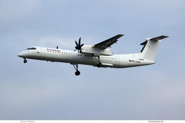 Eurowings, Bombardier Q400 D-ABQC (TXL 20.1. 2018)