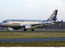 Air France, Airbus A320-200(SL) F-HEPI, SkyTeam-Bemalung (TXL 26.12. 2017)