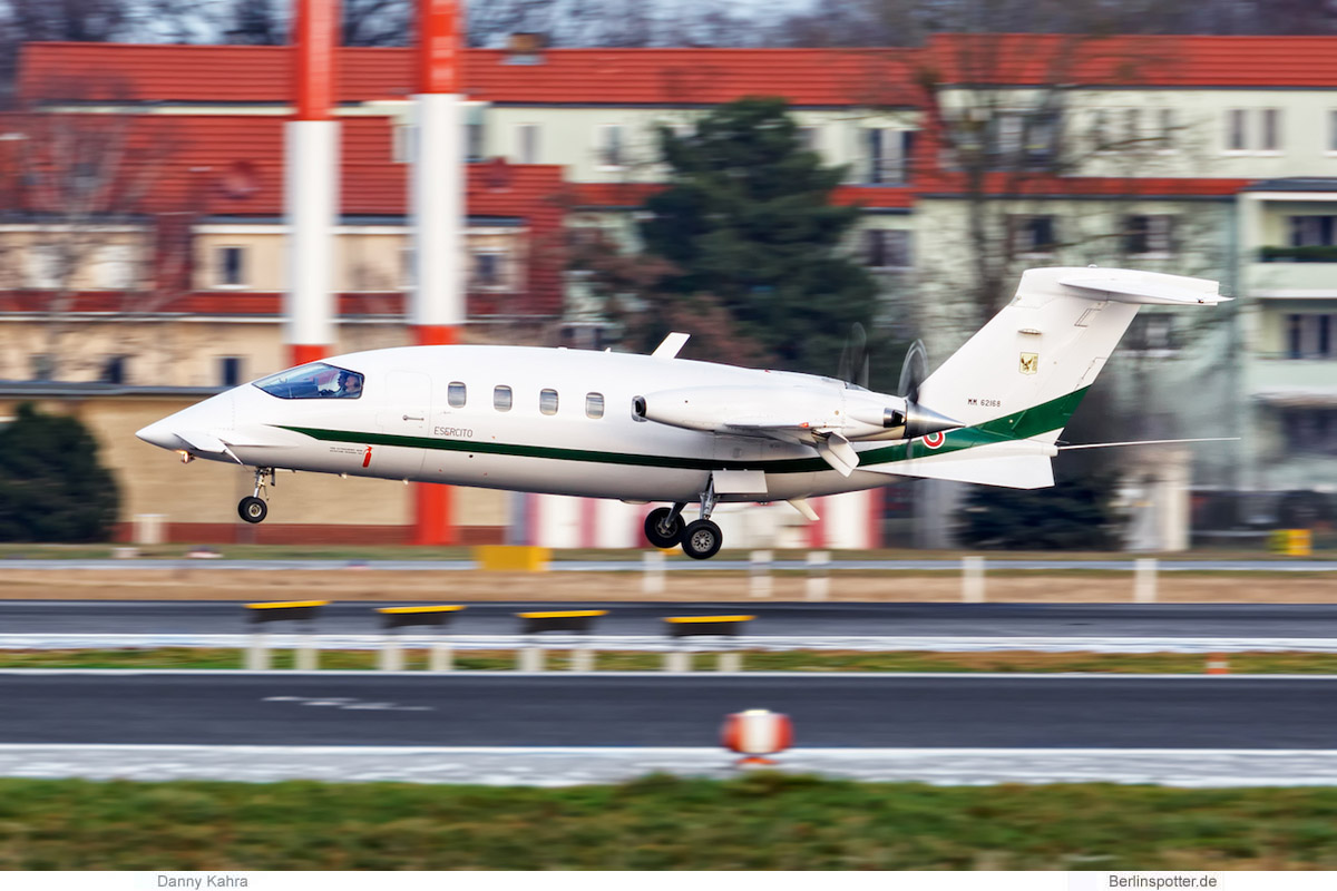Italy Air Force, Piaggio P-168 Avanti MM62168