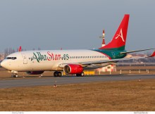 Alba Star, Boeing 737-800(WL) EC-MUB (TXL 3.3. 2018)