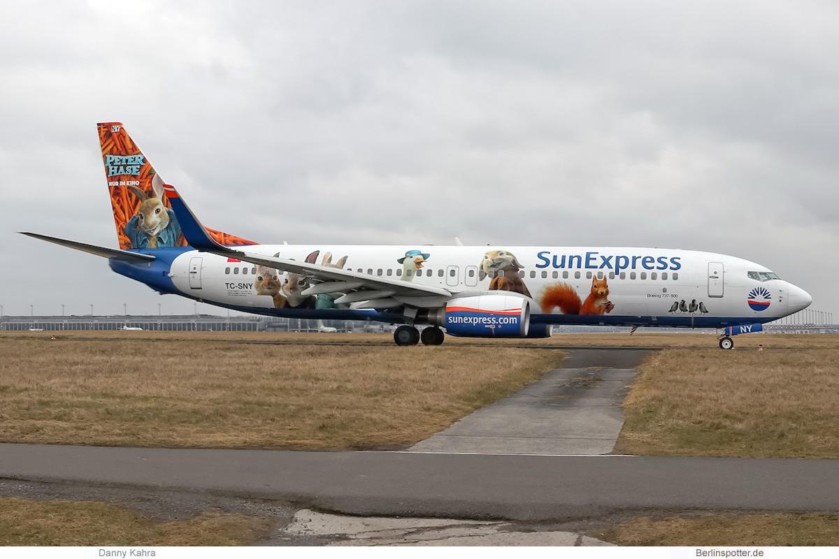 SunExpress Boeing 737-800(WL) TC-SNY