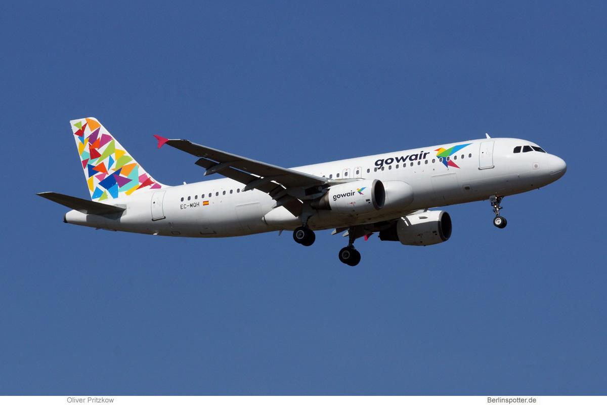 Gowair Airbus A320-200 EC-MQH