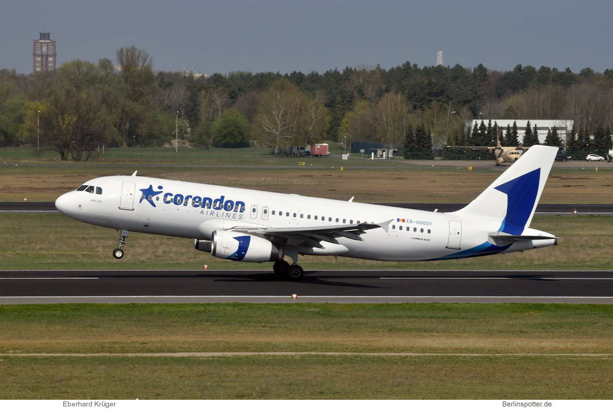 Corendon Airlines Europe Airbus A320-200 ER-00001