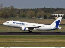 Corendon Airlines Europe, Airbus A320-200 ER-00001, ex FlyOne-Bemalung (TXL 18.4. 2018)