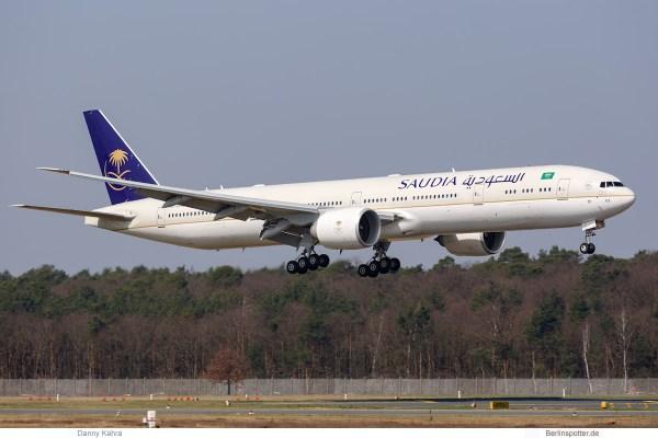 Saudia, Boeing 777-300ER HZ-AK44 (TXL 10.4. 2018)