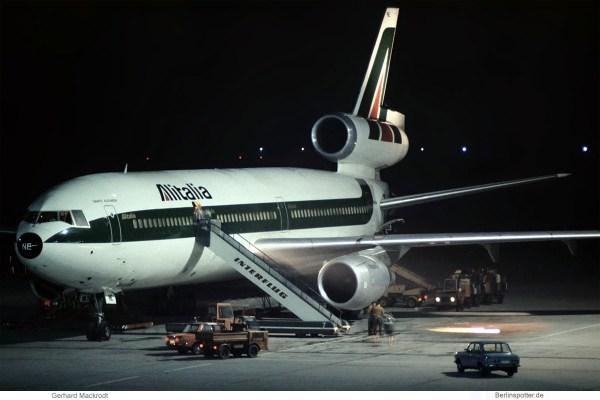 Alitalia, McDonnell-Douglas DC-10-30 I-DYNE (SXF 23.10. 1977)