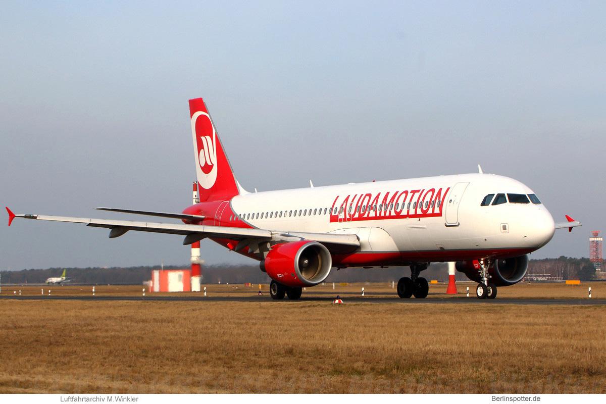 LaudaMotion Airbus A320-200 OE-LOF
