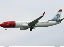 Norwegian Air International, Boeing 737-800(WL) EI-FVN, Camilla Collet im Tail (SXF 18.5. 2018)