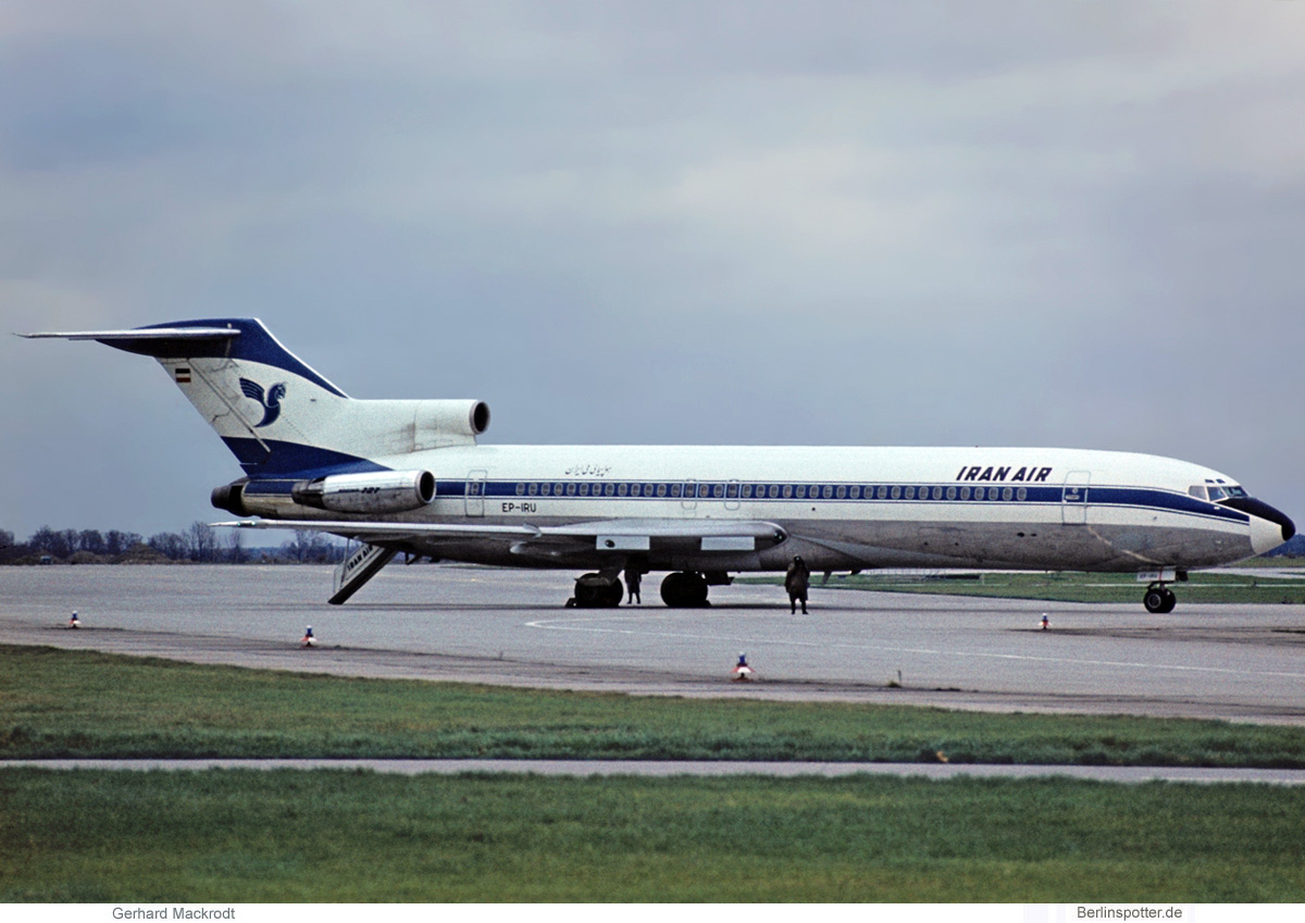 Iran Air Boeing 727-200 EP-IRU